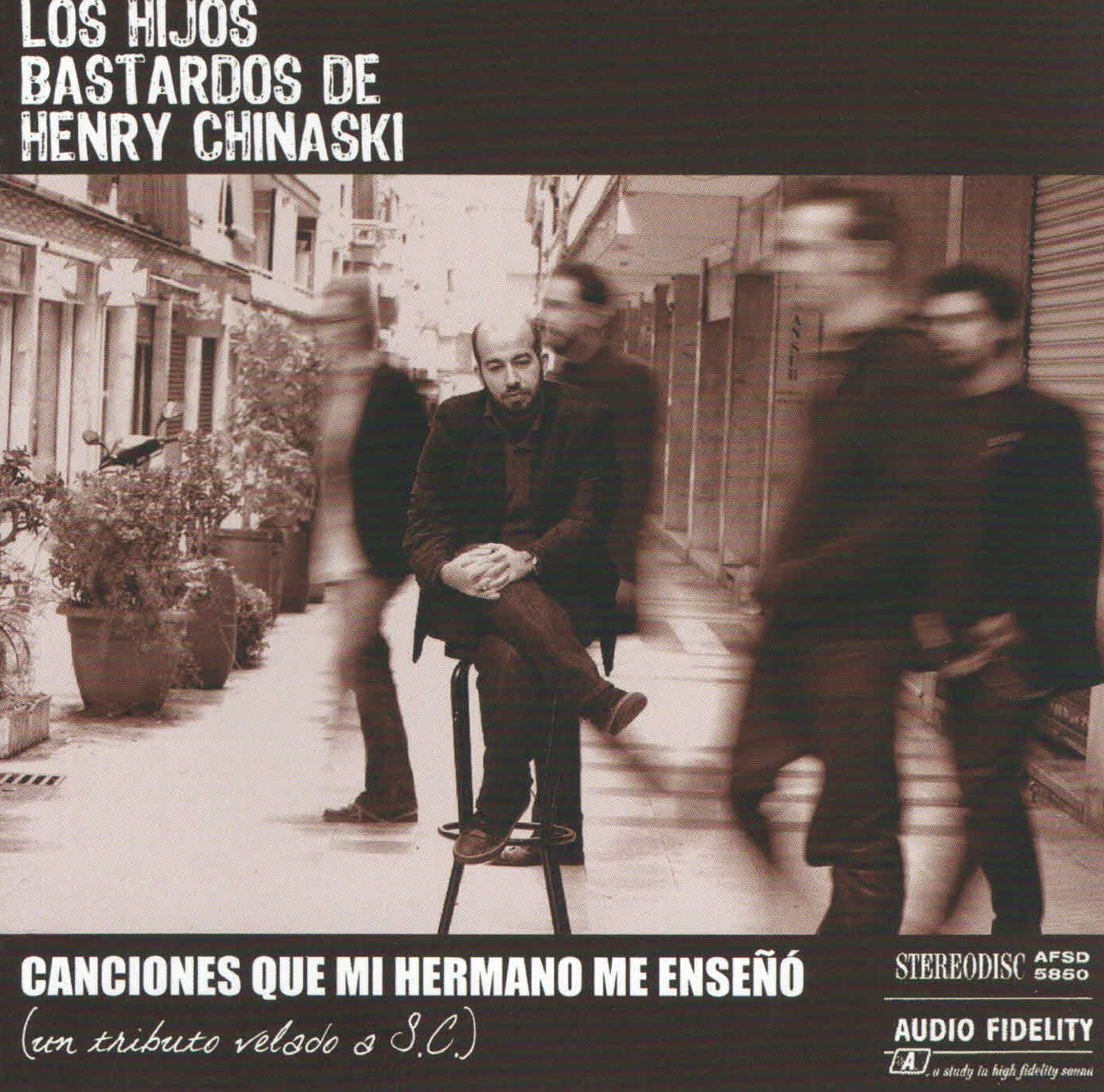 Los Hijos Bastardos de Henry Chinaski - 'Canciones que mi hermano me enseñó' (CD)