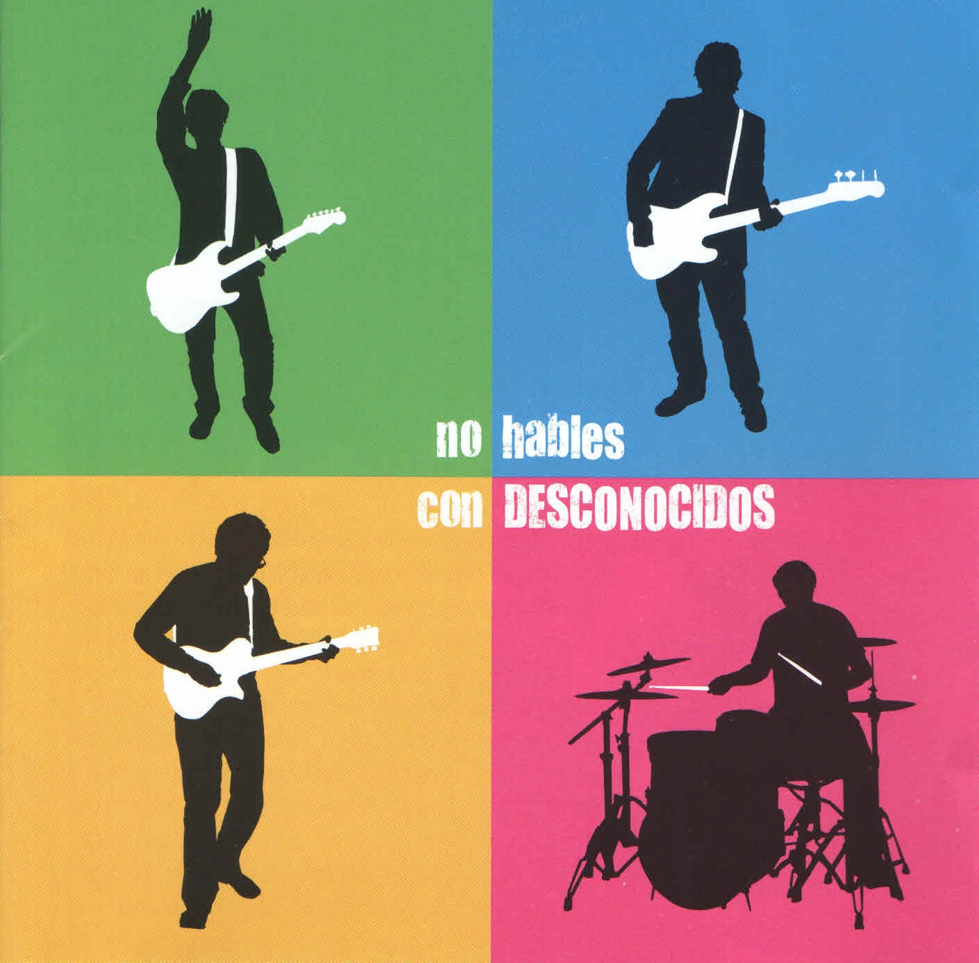 Desconocidos - 'No hables con...' (MP3 - 320 kbps. Descarga Digital)