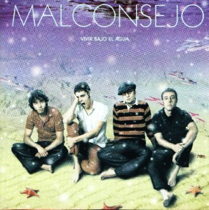 Malconsejo - 'Vivir bajo el agua ' (CD)