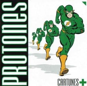 Protones - 'Cartunes +' (CD)