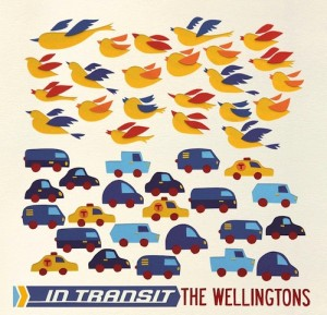The Wellingtons - 'In Transit' (CD)