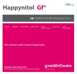 Goodfellows - 'Happynitol 150mg.' (CD)