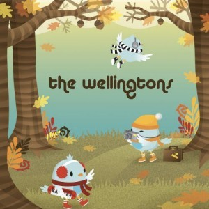 The Wellingtons - 'Heading north for the winter' (CD)