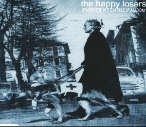 The Happy Losers - 'Somewhere in the middle of a sunday (sg)' (CD)