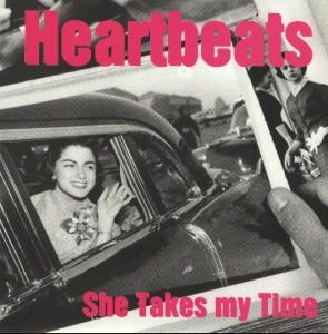 The Heartbeats - 'She takes my time (Sg)' (7'' vinilo + Fanzine Rock Indiana nº5)
