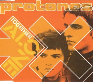 Protones - 'Together alone (sg)' (CD)