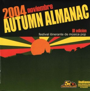 Varios - 'Autumn almanac vol III ' (CD)