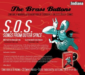 Brass Buttons - 'Songs from outer space' (Disco-Comic: CD + Comic Book)